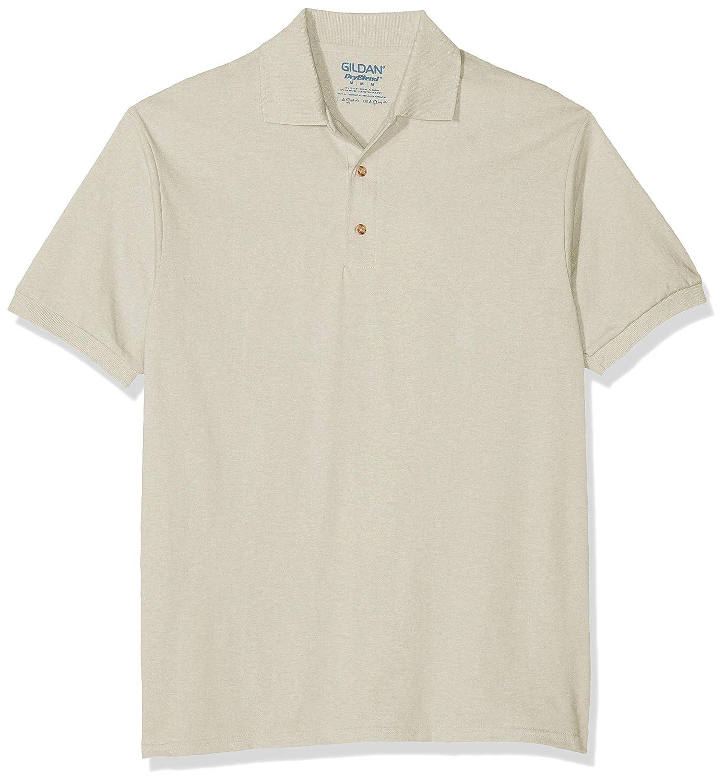 Gildan para hombre DryBlend Jersey Polo: Amazon.es: Ropa y accesorios