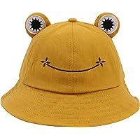 Tuopuda Bonito sombrero de rana para mujeres y hombres, de algodón, para verano, plegable, para pescador, para niños…