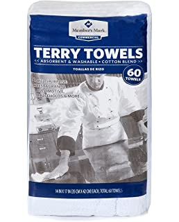 Members Mark Terry Towels - 60 ...