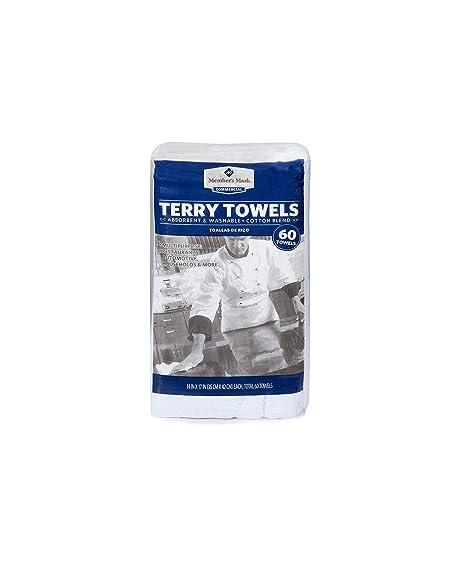 Member/'s Mark Terry Towels 60 pk.