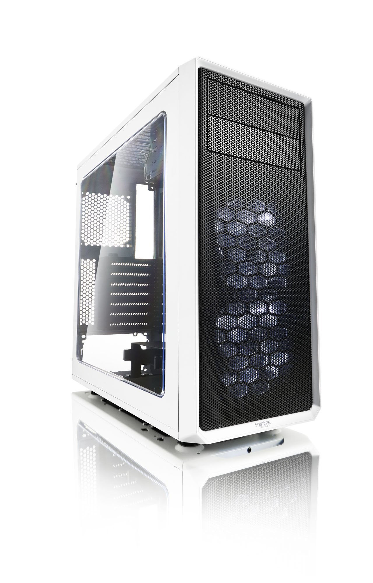 Fractal Design FD-CA-Focus-WT-W ATX Mid Tower Computer Case by Fractal Design