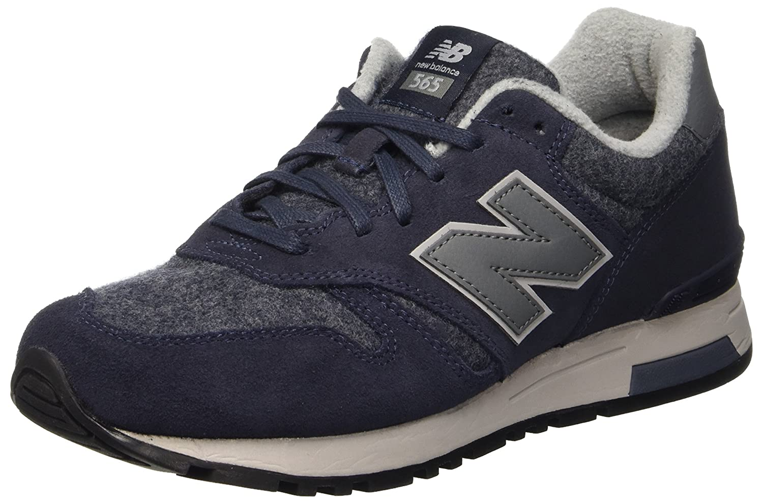 New Balance 565, Zapatillas de Running para Hombre 42 EU|Multicolor (Navy/Grey)