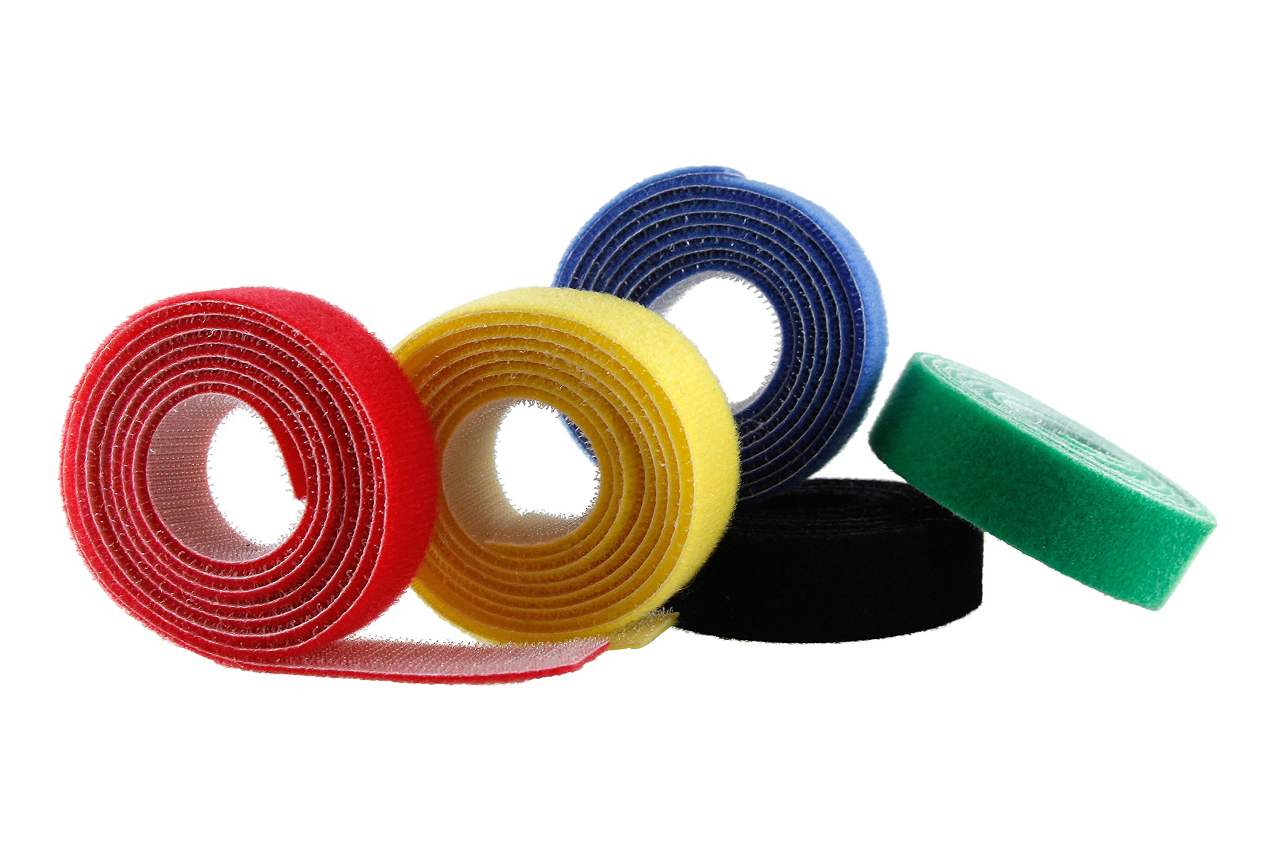 Baumgartens Nylon Cord Roll 5 Pack Assorted Colors (Pack of 5) (48005)