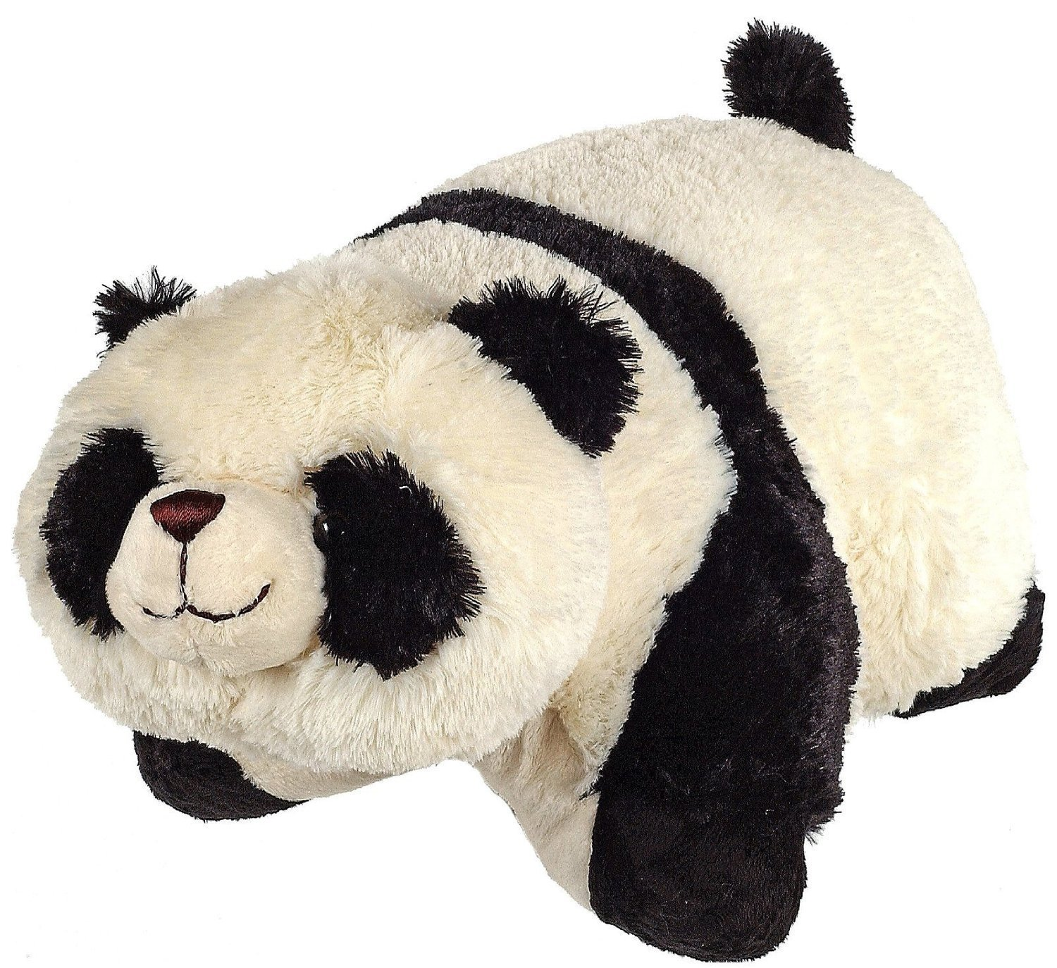 Pillow Pets Pee-Wees 11 Inch Folding Stuffed Animal - Comfy Panda: Amazon.es: Juguetes y juegos