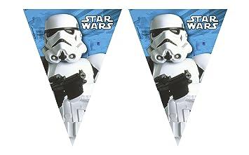 Procos Guirlanda banderines Stormtrooper Star Wars? - Única