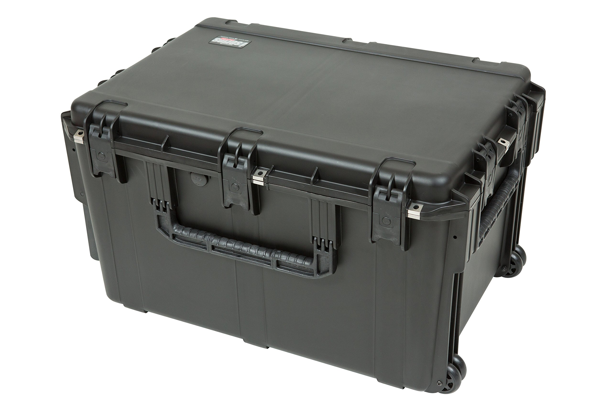 SKB 3I-3021-18BC 30 x 21 x 18 Inches Audio Utility Case with Wheels and Cubed Foam