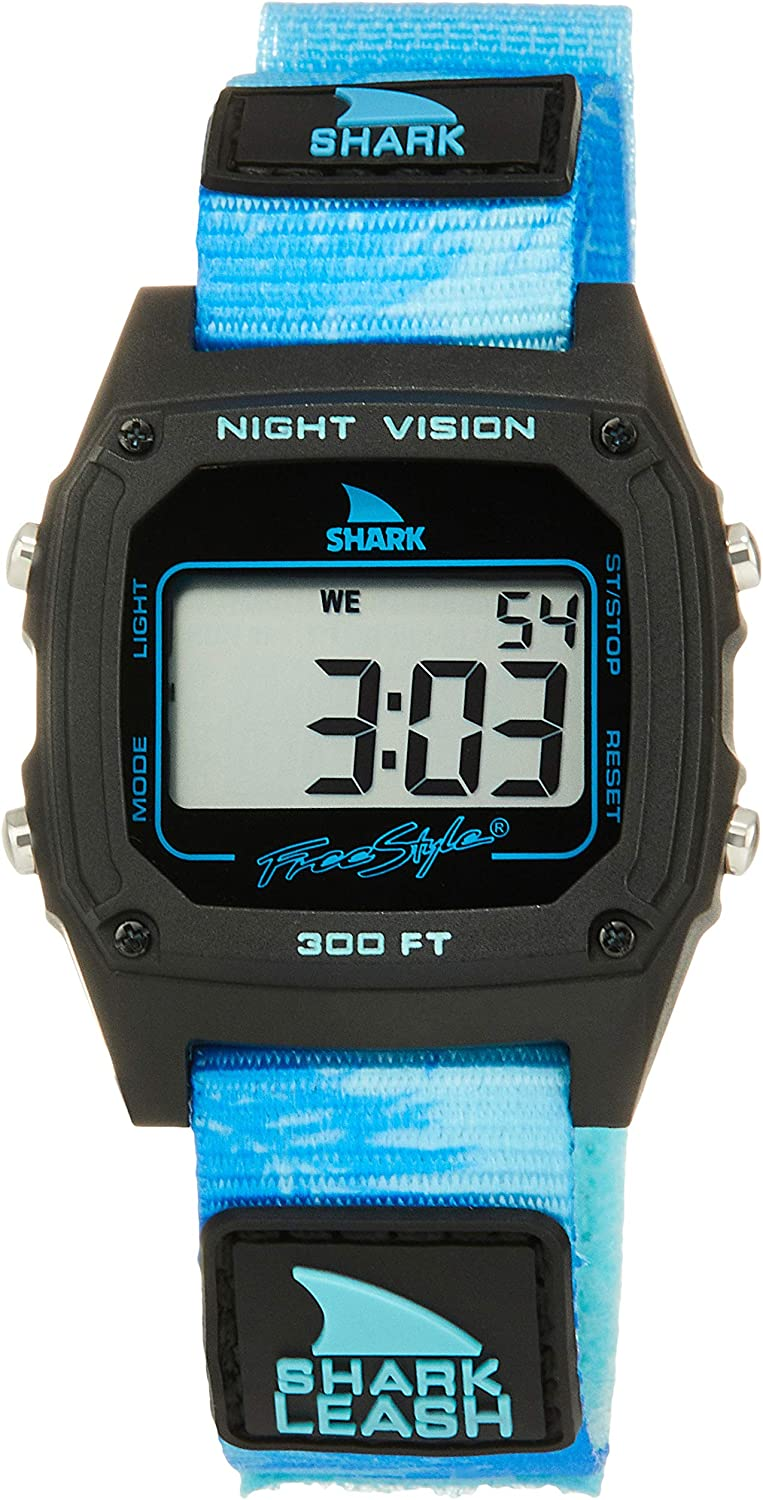 Freestyle Shark Classic Leash Aloha Blue Palms Unisex Watch FS101022