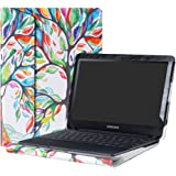 """Alapmk Protective Case Cover For 11.6"""" Samsung Chromebook 4 XE310XBA & Chromebook 3 XE500C13 & Chromebook 2 XE503C12 XE500C12 Laptop(Note:Not fit Samsung XE303C12 series Chromebook),Love Tree"""