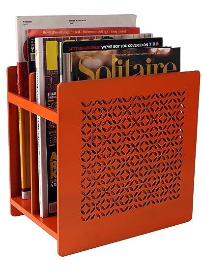 Modello Orange Magazine Holder Amazonin Home Kitchen Cool Orange Magazine Holder