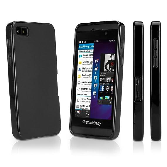 online retailer 68631 d8cdd Amazon.com: BlackBerry Z10 Case, BoxWave [Blackout Case] Durable ...