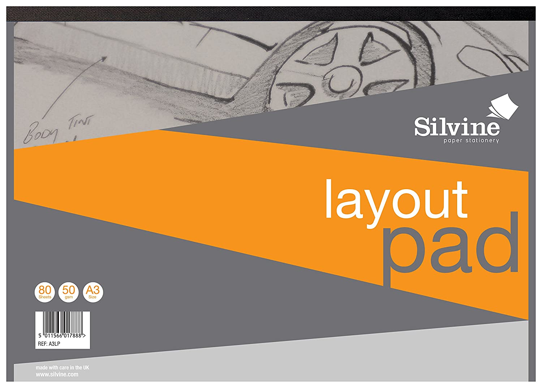 Silvine Ref Layout Pad