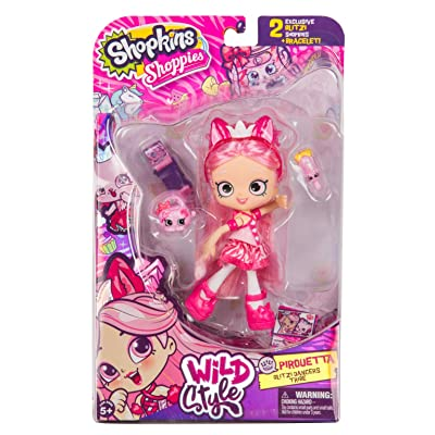 Shopkins Season 9 Wild Style Shoppies - Pirouetta: Toys & Games