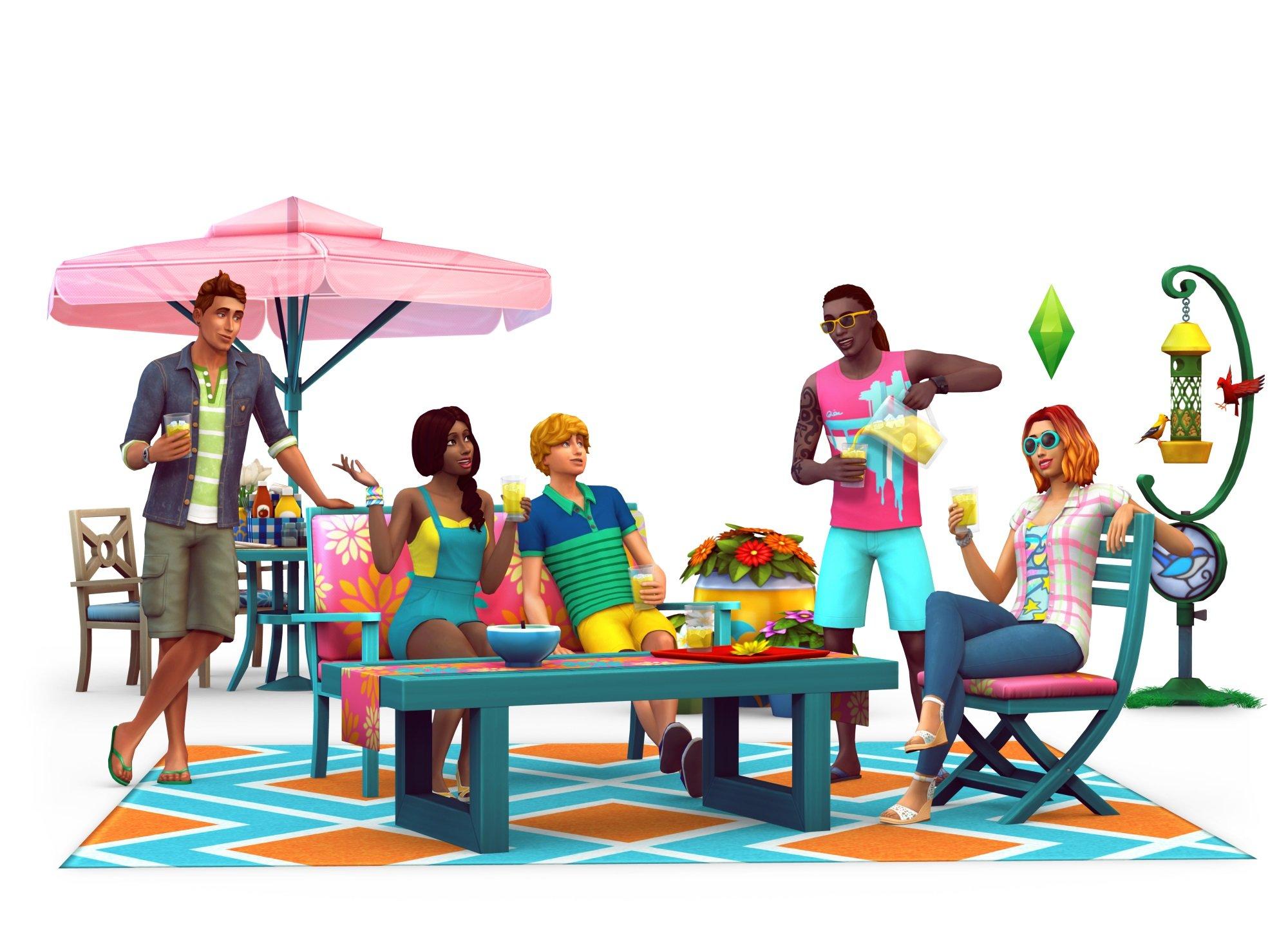 amazon com the sims 4 backyard stuff online game code video games