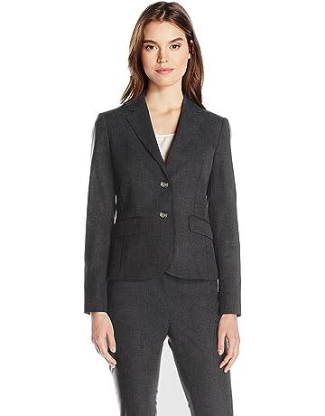 fc5a8407ef Jones New York Women's Washable Suiting Short 2 Btn Jacket