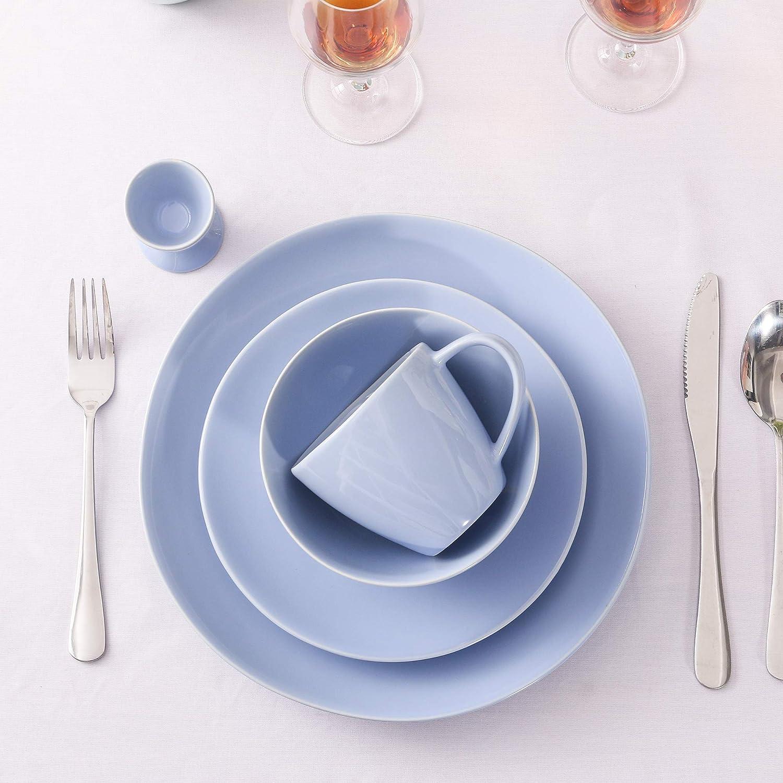 Egg Cup Ceramic Breakfast /& Dinner Set Service vancasso Multi-Colour Glazed Porcelain Dinnerware Combination Set