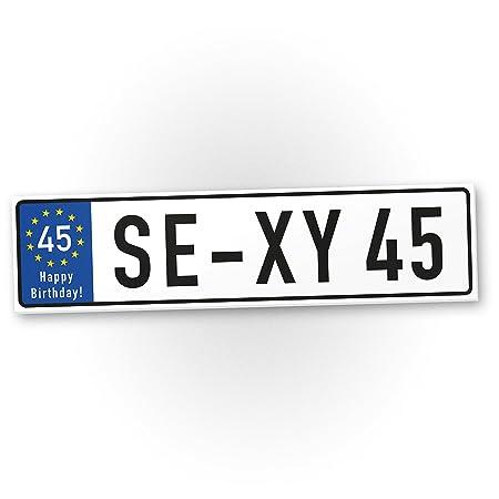 DankeDir!. Sexy 45 años plástico Cartel años – 45. Regalo Cumpleaños, Regalo Idea Regalo de cumpleaños fünfun DVier – zigsten, cumpleaños ...