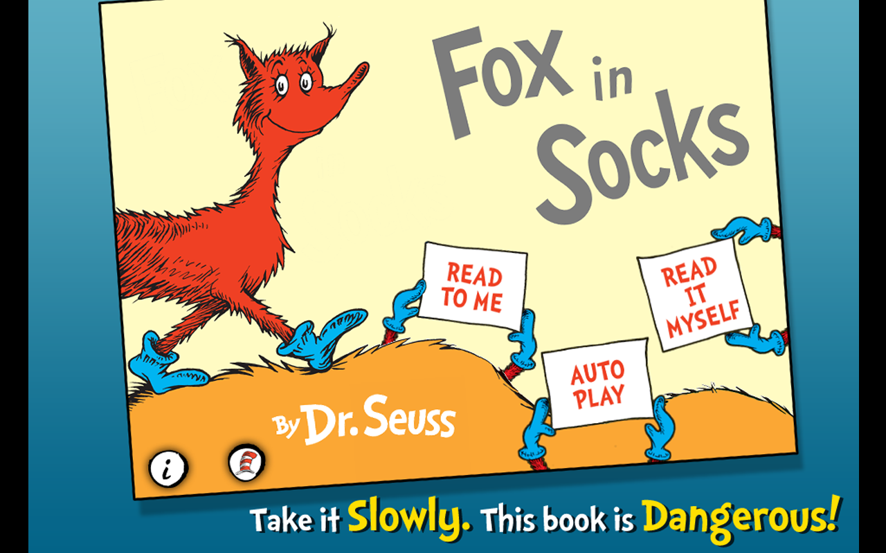Amazon.com: Fox In Socks - Dr. Seuss: Appstore for Android