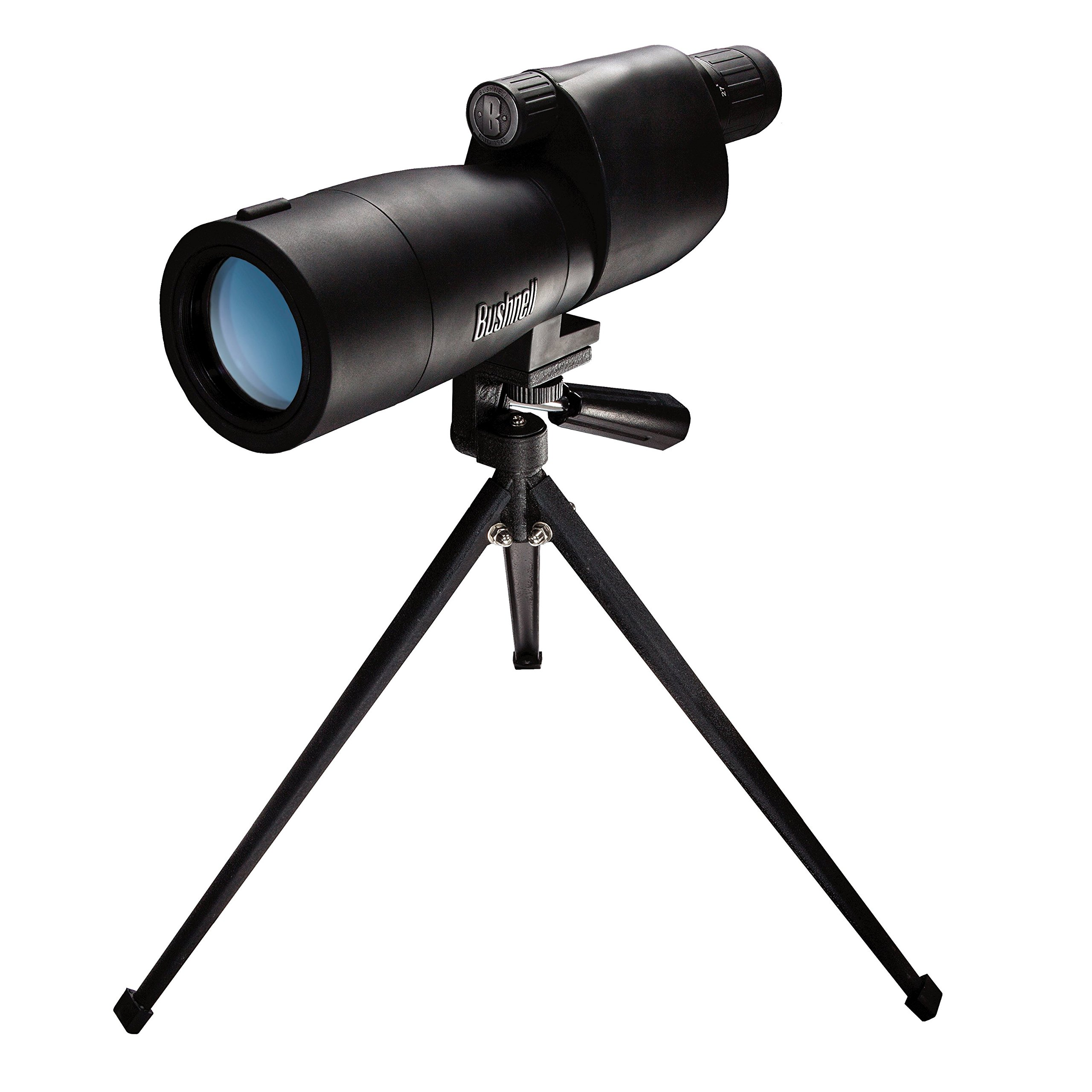 Bushnell Sentry 18-36 x 50mm Porro Prism Waterproof/Fogproof Spotting Scope with Tabletop Tripod, Black by Bushnell