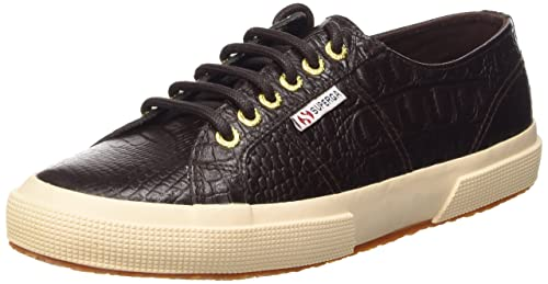 K51 43 Superga 2750 Cotu Classic Sneakers Unisex Adulto Dark Chocolate tqn