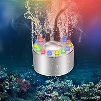 Blasoul Mini Mist Maker,Aluminum Mini Fog Maker Waterproof Ultrasonic Foger Large Capacity of Mist,Fogger Halloween with…