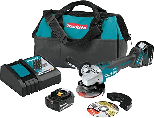 Makita XAG04T 18V LXT BL 4-1 2 5 Cut-Off Angle Grinder Kit