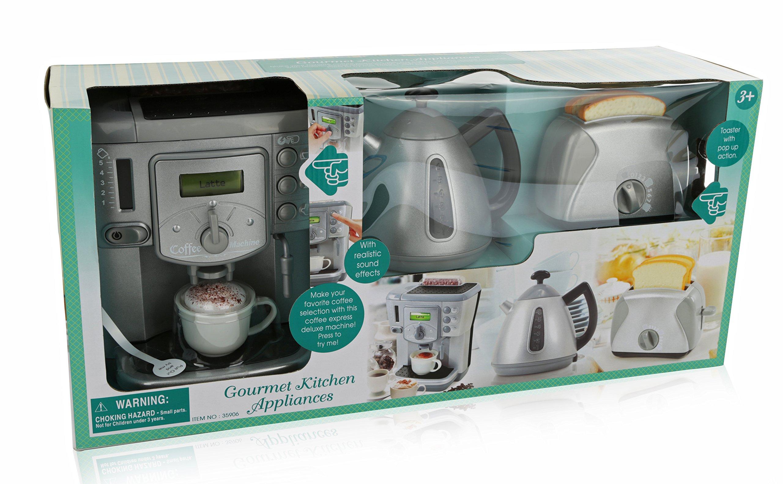 Toy Kitchen Breakfast Tea Set