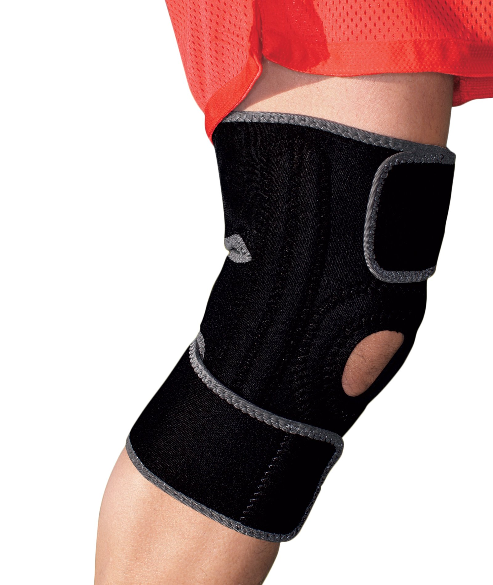ACE Brand Knee Brace with Dual Side Stabilizers, America's Most Trusted Brand of Braces and Supports, Money Back Satisfaction Guarantee
