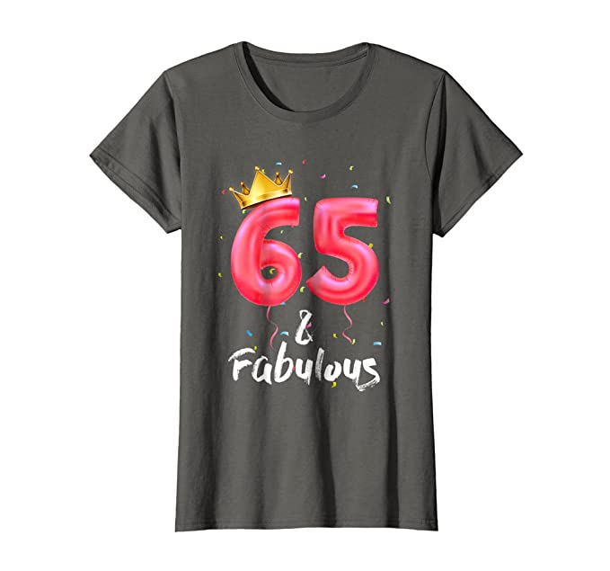 Womens 65th Birthday Shirt For Women