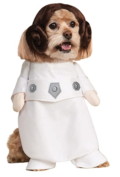 Rubie\u0027s Star Wars Collection Pet Costume, Princess Leia, Small