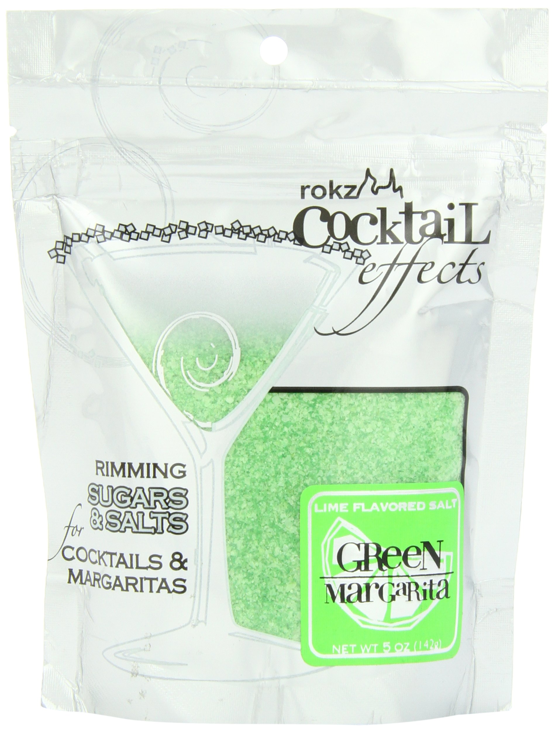 Rokz Design Group Salt, Green Margarita, 5 Ounce