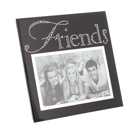 Friends Black Glass 4\