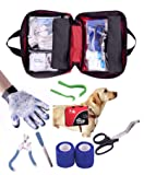 Pet First Aid Kit for Dogs & Cats + Bonus