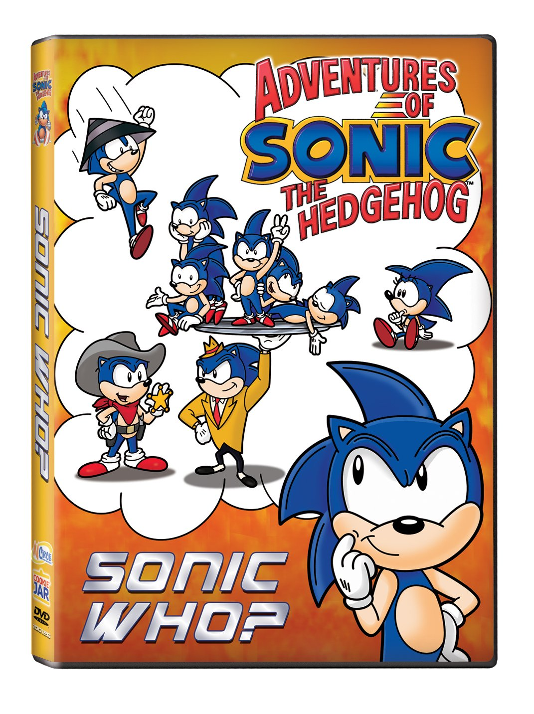 Amazon Com Adventures Of Sonic The Hedgehog Sonic Who Artist Not Provided Sonic Movies Tv