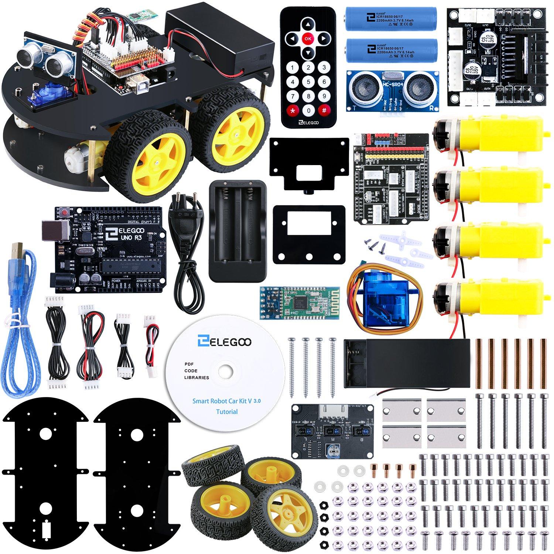 Elegoo UNO Proyecto Kit de Coche Robot Inteligente V con UNO R