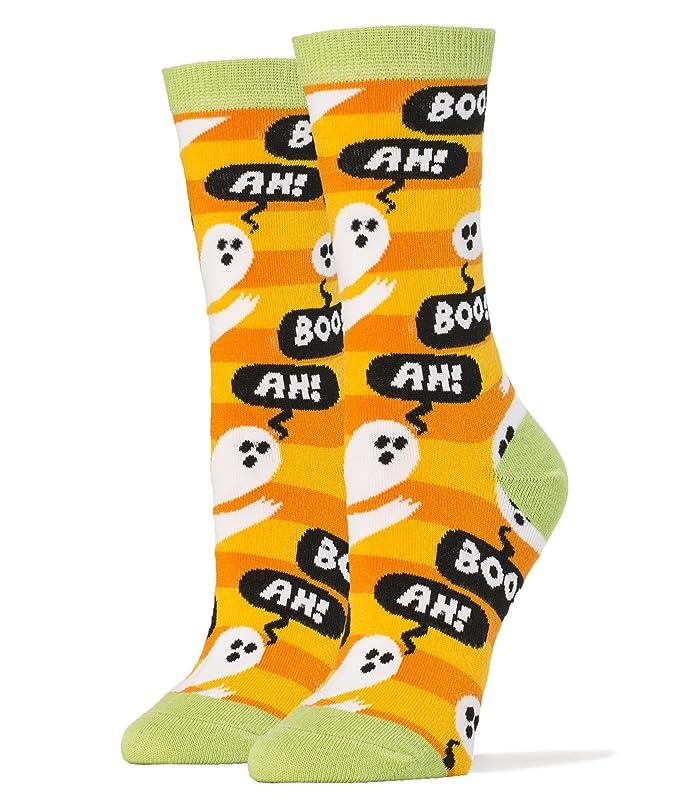Funny Halloween orange socks