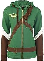 Official Womens Legend of Zelda Cosplay Link Costume Style Hoodie