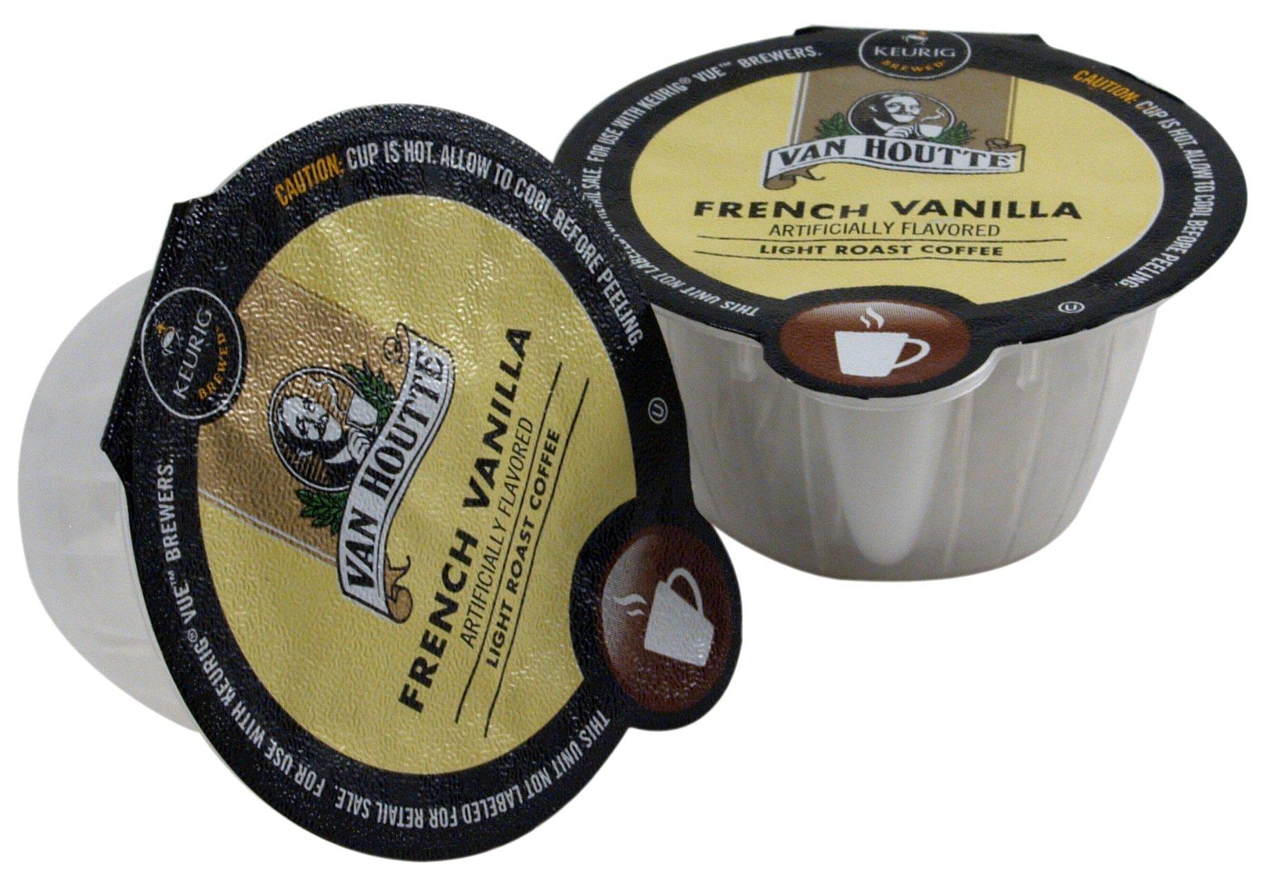 Van Houtte French Vanilla Coffee Keurig Vue Portion Pack, 96 Count