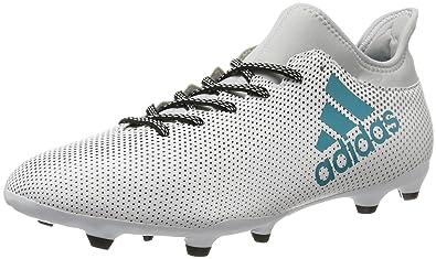 detailing bb6ac c0774 Adidas Men s X 17.3 Fg Ftwwht Eneblu Clegre Football Boots - 8 UK