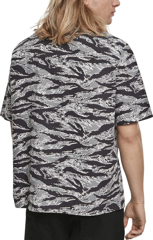 Urban Classics Pattern Resort Shirt Camicia Uomo