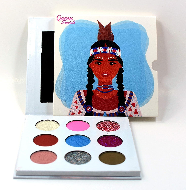Chenoa Eyeshadow Palette by Queen Facials