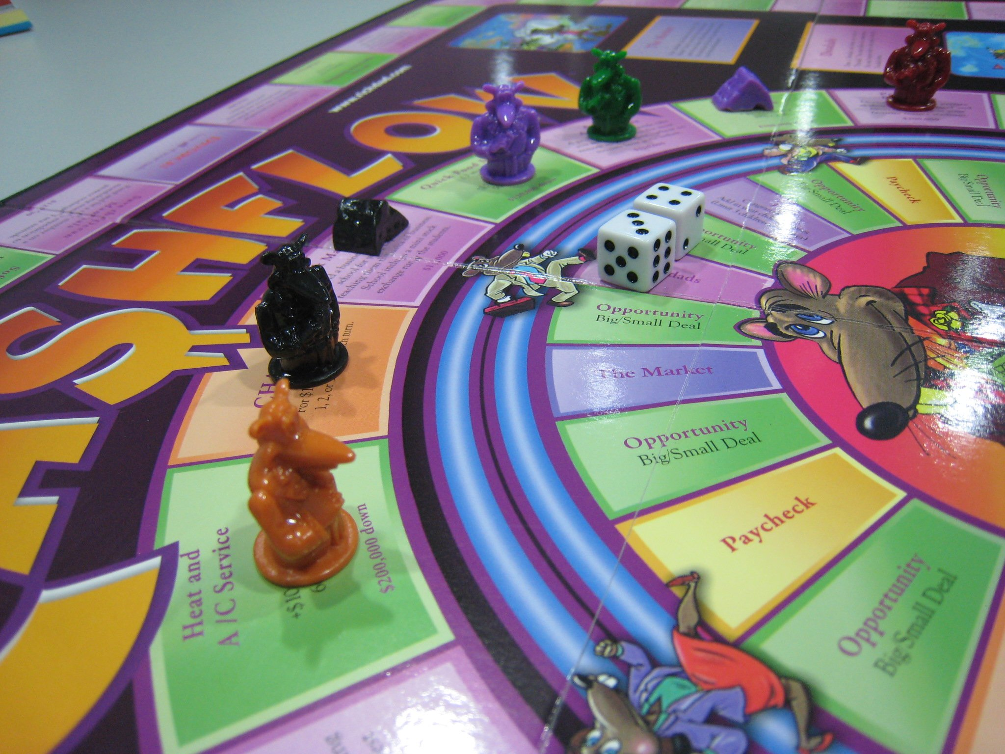 Rich Dad CashFlow 101 + 202 Board Game by The Rich Dad Company (Image #4)