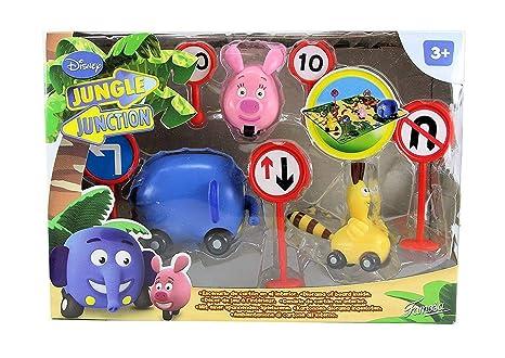 Jungla sobre ruedas - Jsr Pack 3 Figuras (Famosa) 700009062
