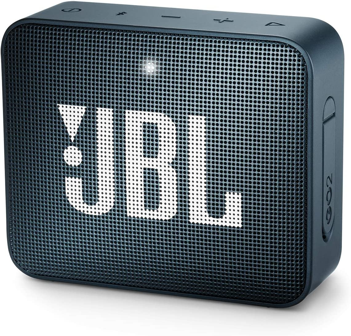 JBL GO2 - Waterproof Ultra Portable Bluetooth Speaker - Navy