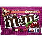 M&M's Flavor Vote Crunchy Raspberry, 8 Ounce Bag