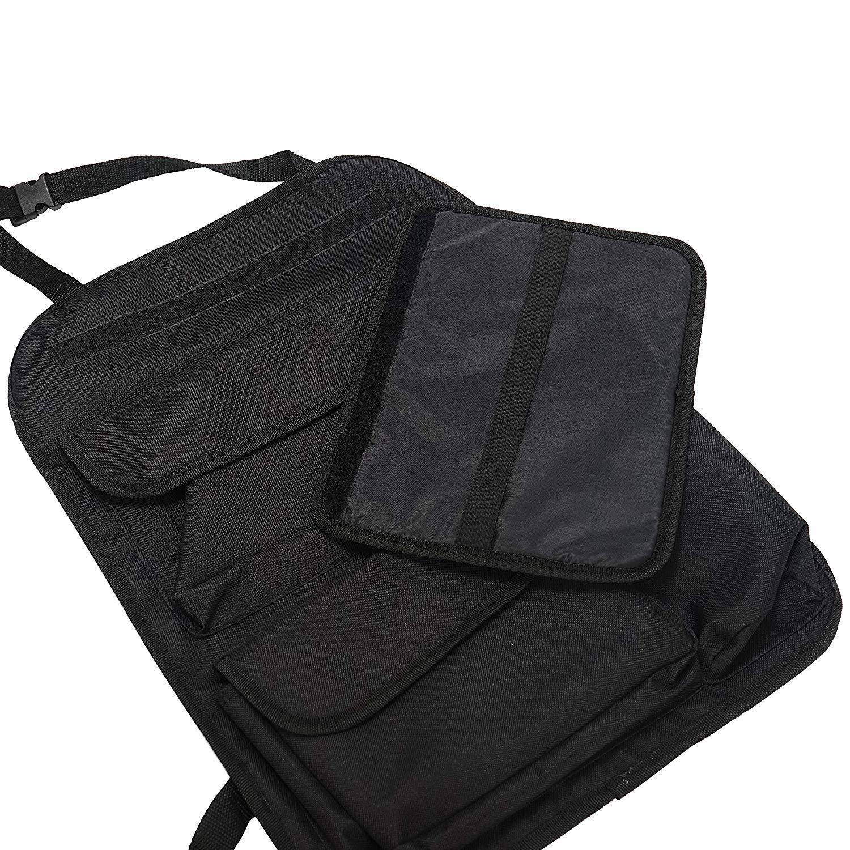 Organizador de Asiento de Coche con Protector de Respaldo de Varios Bolsillos para iPad Pantalla t/áctil COOLBEBE Soporte para Tableta