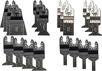 20x Multi Tool Oscillating Saw Blades For Dewalt Fein Bosch Milwaukee Saw Blades