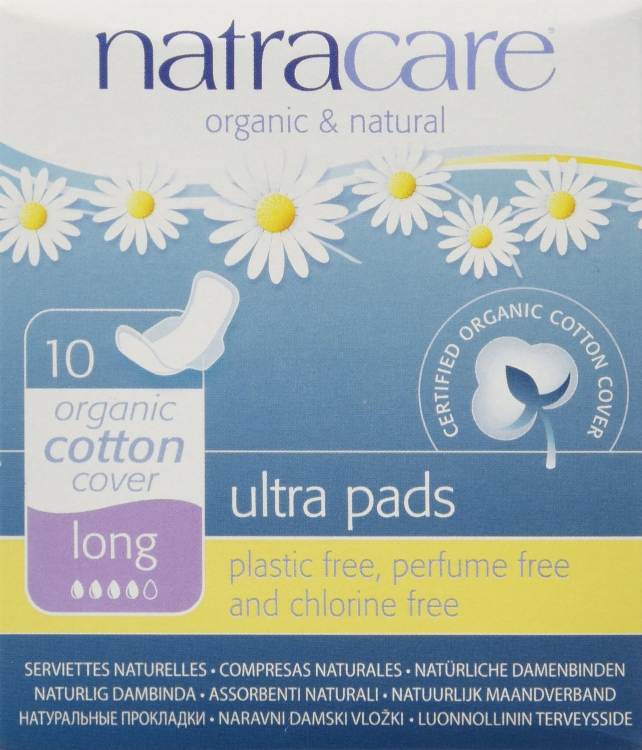 (Pack Of 3) Ultra Pads with Wings Long | NATRACARE