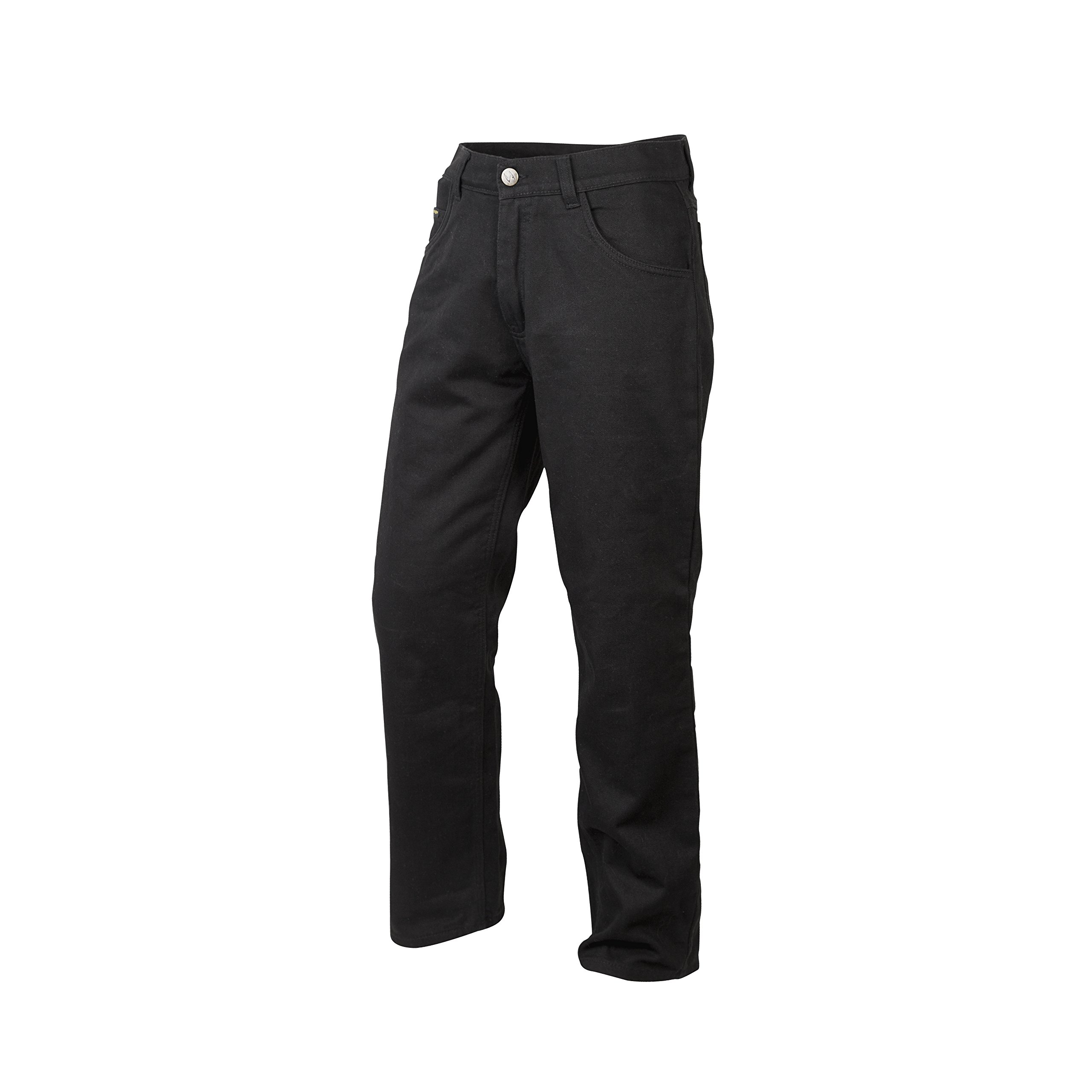 ScorpionExo Covert Jeans Men's Reinforced Motorcycle Pants (Black, Size 38)