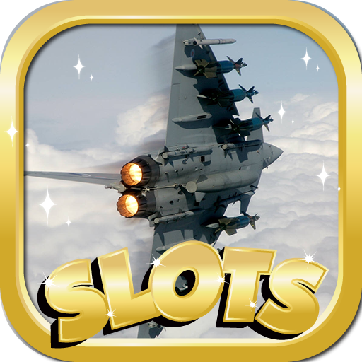 (Online Slots For Money : Air Force Famous Edition - Slot Machines & Pokies Game)
