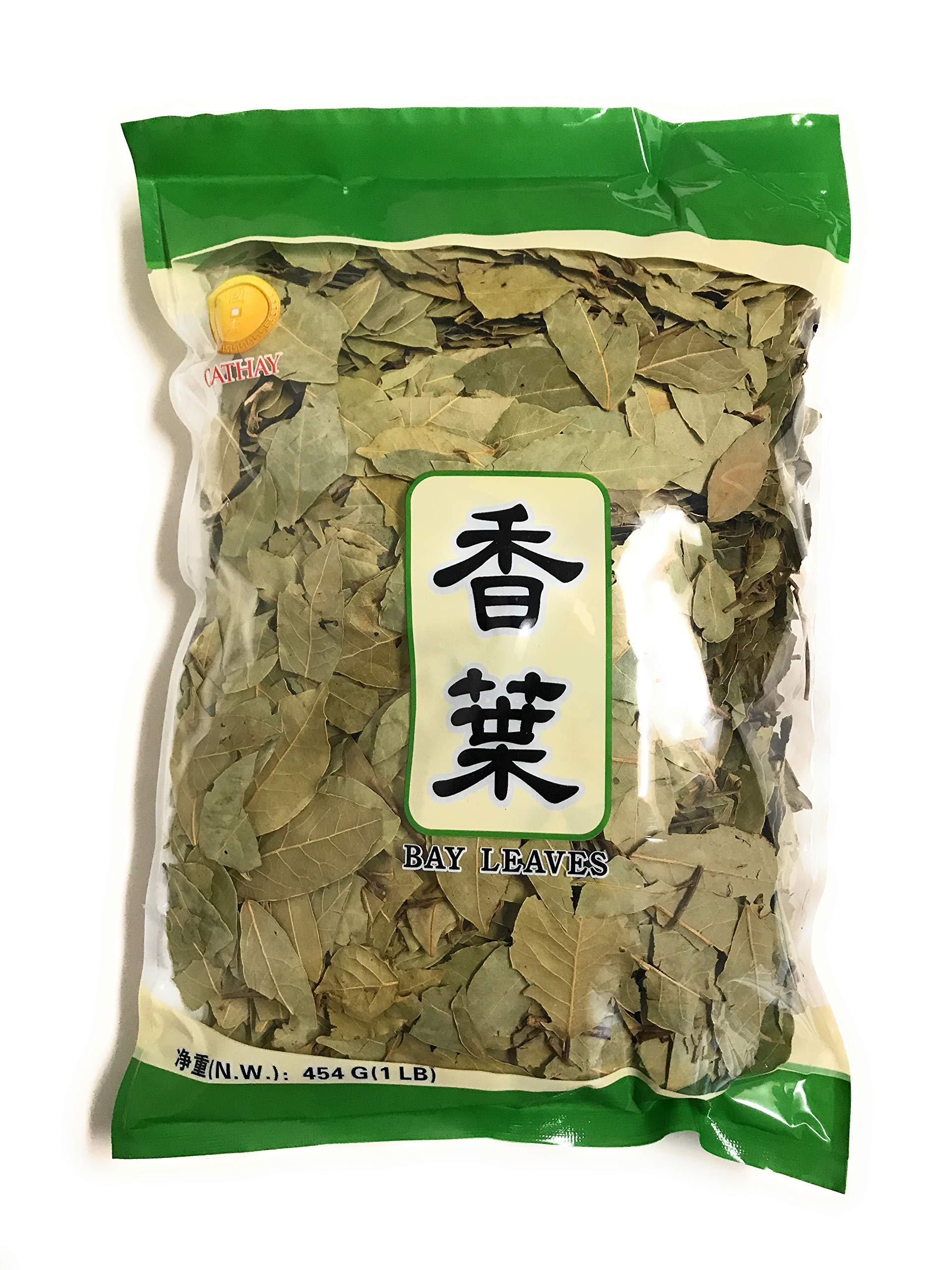 Bay Leaves Dried, Whole, 1 Pound (454g) Bulk Bag By TLA